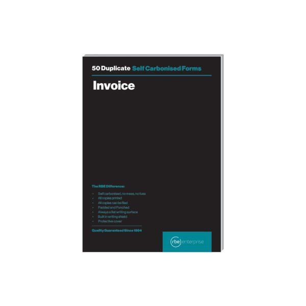 RBE A5 Invoice Duplicate Pad