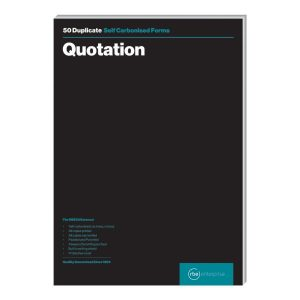 A4 Quotation Duplicate Pad