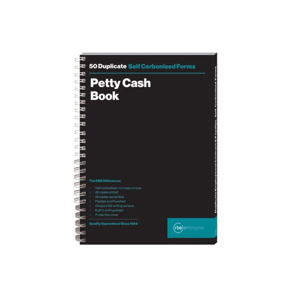 A5 Petty Cash Book Duplicate Form