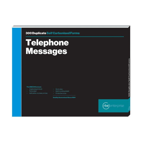 Telephone Message - 6 to View Duplicate Book