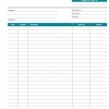 A4 Quotation Triplicate Pads Form