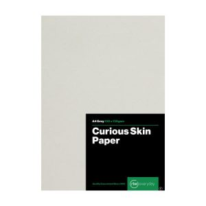 Curious Skin Grey Paper