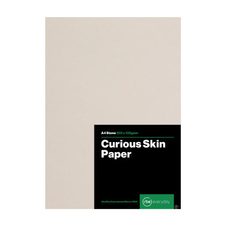 Curious Skin Stone Paper