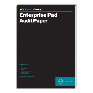 3 Column Audit Pads