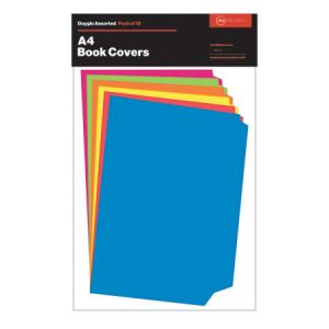 Assorted Dayglo Book Covers
