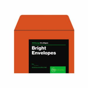 Bright Orange C6 Envelopes
