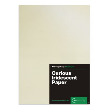 Curious Iridescent Europa Ivory Paper