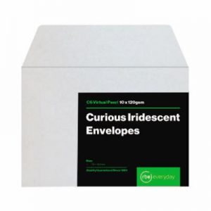Curious Iridescent Virtual Pearl C6 Envelopes