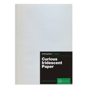 Curious Iridescent Virtual Pearl Paper