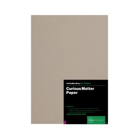 Curious Matter Andina Grey Paper