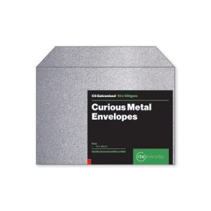 Curious Metal Galvanised C6 Envelopes
