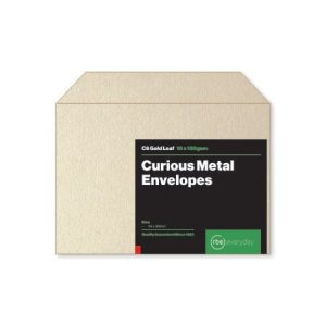 Curious Metal Gold Leaf C6 Envelopes