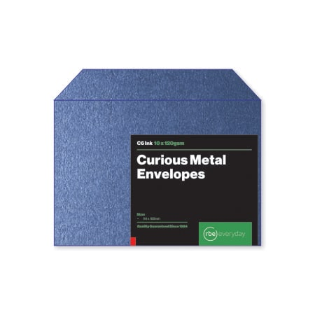 Curious Metal Ink C6 Envelopes