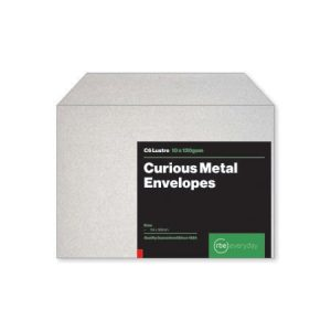 Curious Metal Lustre C6 Envelopes