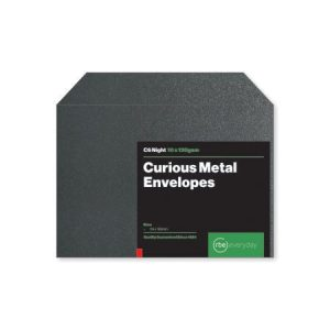 Curious Metal Night C6 Envelopes