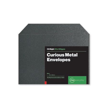 Curious Metal Night C6 Envelopes