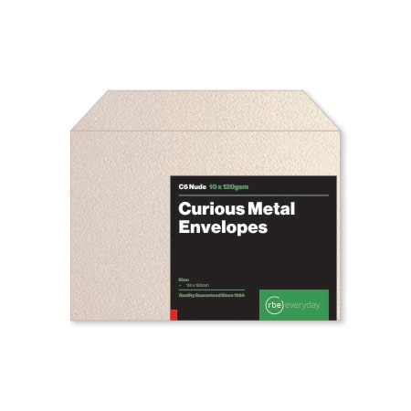 Curious Metal Nude C6 Envelopes