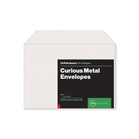 Curious Metal Pink Quartz C6 Envelopes