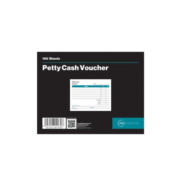 Petty Cash Voucher Pads