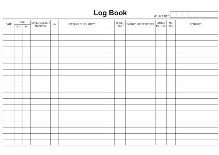 a5 drivers log book rbe stationery manufacturers. Black Bedroom Furniture Sets. Home Design Ideas