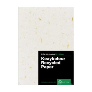 Keaykolour Recycled Particle Sunshine Paper