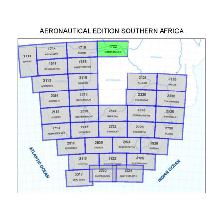 Katima Mulilo Aviation Map