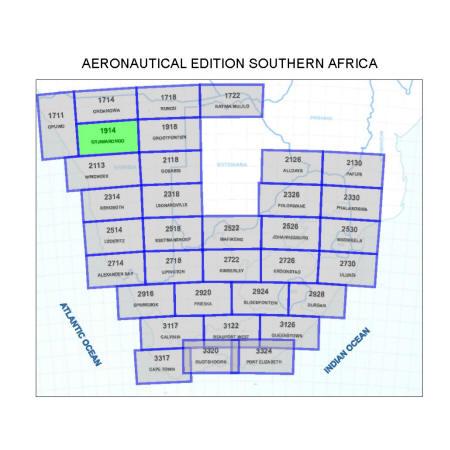 Otjiwarongo Aviation Map