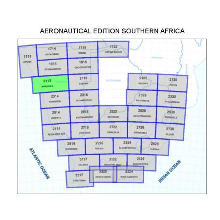 Windhoek Aviation Map