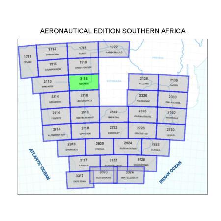 Gobabis Aviation Map
