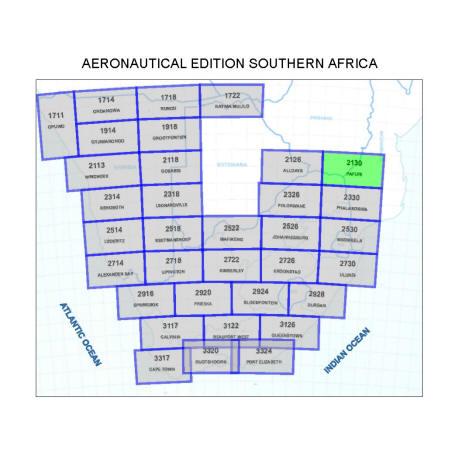 Musina Aviation Map