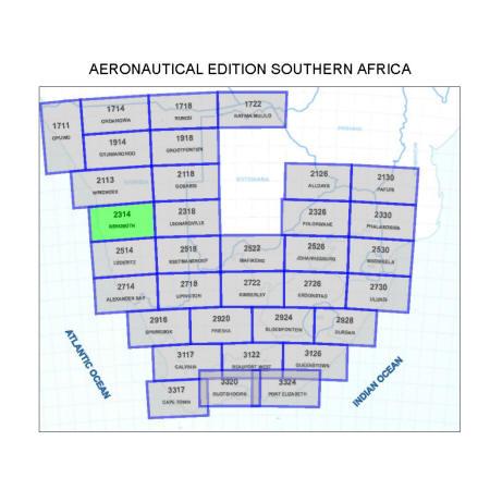 Rehoboth Aviation Map
