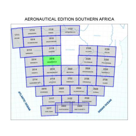 Leonardville Aviation Map