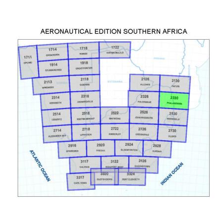 Phalaborwa Aviation Map
