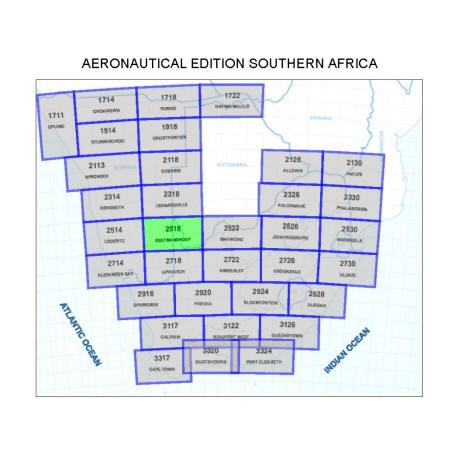 Keetmanshoop Aviation Map
