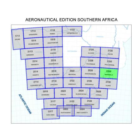 Mbombela Aviation Map