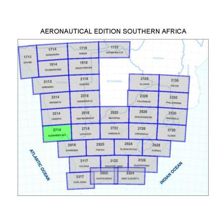 Alexander Bay Aviation Map