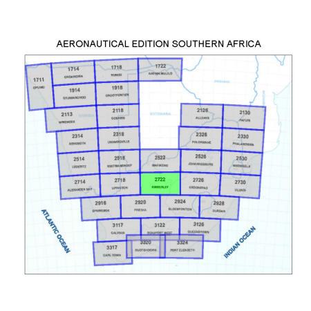 Kimberley Aviation Map