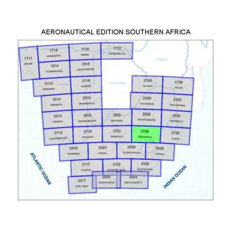 Kroonstad Aviation Map
