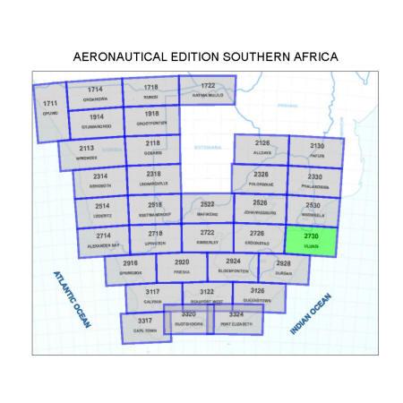 Ulundi Aviation Map