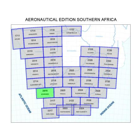 Springbok Aviation Map