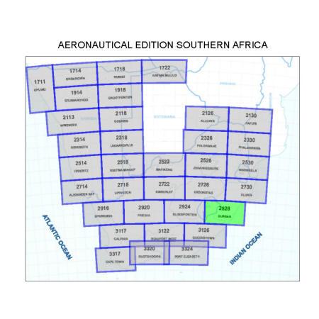 Durban Aviation Map