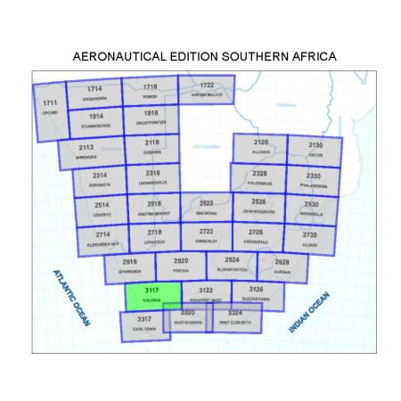Calvinia Aviation Map