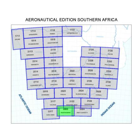 Oudtshoorn Aviation Map