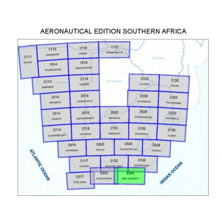 Port Elizabeth Aviation Map