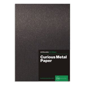 Curious Metal Chocolate Paper
