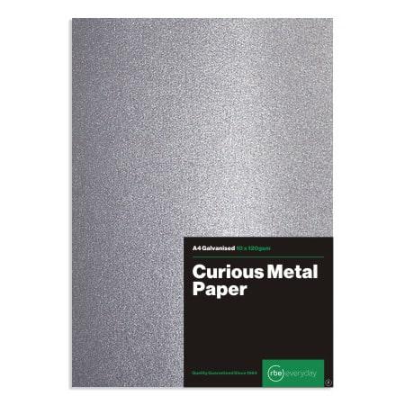 Curious Metal Galvanised Paper