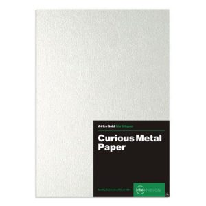 Curious Metal Ice Gold Paper