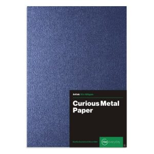 Curious Metal Ink Paper