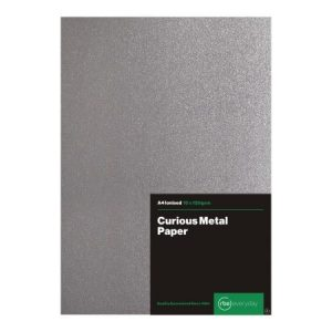 Curious Metal Ionised Paper