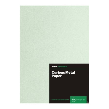 Curious Metal Mint Paper
